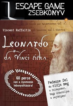Nicolas Trenti - Leonardo da Vinci titka - ESCAPE GAME ZSEBKÖNYV