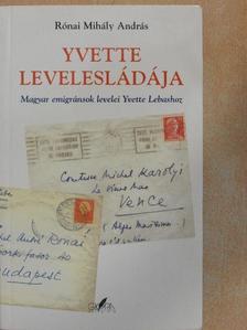 Rónai Mihály András - Yvette levelesládája [antikvár]