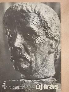 Ágh István - Új Írás 1973. április [antikvár]