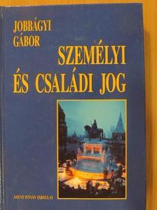 Jobbágyi Gábor - Személyi és családi jog [antikvár]