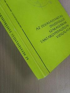 Fábián Zoltán - Az olvasástanítás összefüggő szakaszának tantárgypedagógiai vizsgálata [antikvár]