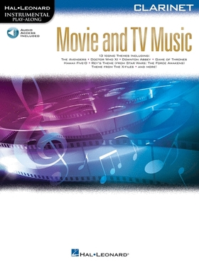 MOVIE AND TV MUSIC - CLARINET. AUDIO ACCESS INCLUDED