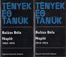 Balázs Béla - Napló I-II. [antikvár]