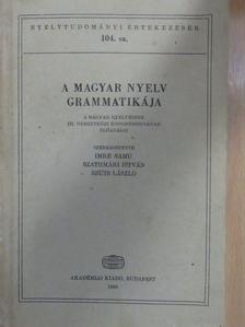 A. Jászó Anna - A magyar nyelv grammatikája [antikvár]