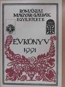Albert Sándor - A Romániai Magyar Gazdák Egyesületének Évkönyve 1991 [antikvár]