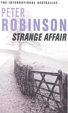 Peter Robinson - Strange Affair [antikvár]
