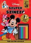 NINCS SZERZŐ - Disney - Mickey egér - Szuper színező