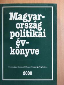 Ágh Attila - Magyarország politikai évkönyve 2000 [antikvár]