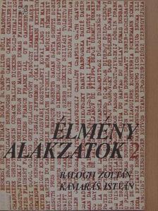 Balogh Zoltán - Élményalakzatok 2. [antikvár]