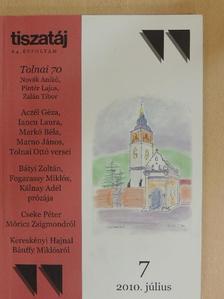 Aczél Géza - Tiszatáj 2010. július [antikvár]