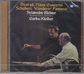DVORAK-SCHUBERT - PIANO CONCERTO OP.33; FANTASY D.760 CD RICHTER