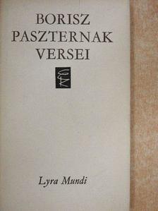 Borisz Paszternak - Borisz Paszternak versei [antikvár]