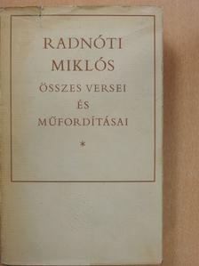 Anakreon - Radnóti Miklós összes versei és műfordításai [antikvár]
