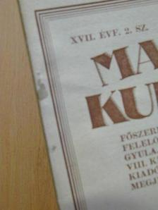 D. Zichi Ernő S. gróf - Magyar Kultúra 1930. január 20. [antikvár]