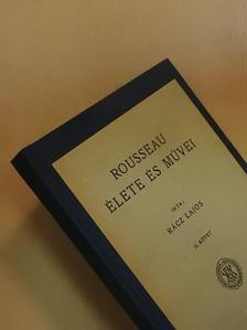 Rácz Lajos - Rousseau J. J. élete és művei II. (töredék) [antikvár]