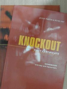 Peter May - Knockout First Certificate - Student's Book/Workbook [antikvár]