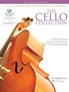 BACH, BOCCHERINI, GRIEG, FAURÉ, HOLST - THE CELLO COLLECTION 14 PIECES IN FIRST POSITION BY 13 COMPOSERS