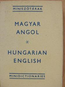 Magyar-angol miniszótár (minikönyv) [antikvár]