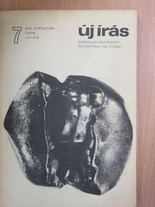 Bajomi Lázár Endre - Új Írás 1976. július [antikvár]