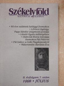 Benkő Levente - Székelyföld 1998. július [antikvár]