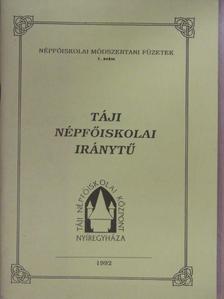 Dr. Margócsy József - Táji népfőiskolai iránytű [antikvár]