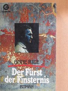 Anne Rice - Der Fürst der Finsternis [antikvár]