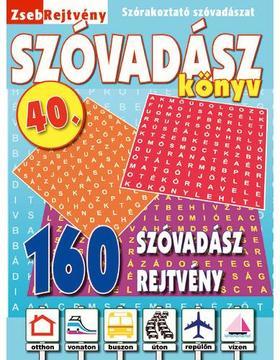 CSOSCH KIADÓ - ZsebRejtvény SZÓVADÁSZ Könyv 40.