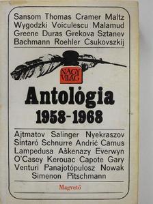 Albert Camus - Nagyvilág antológia 1958-1968. II. (töredék) [antikvár]