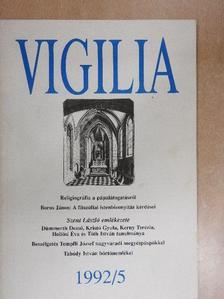 Báthori Csaba - Vigilia 1992. május [antikvár]