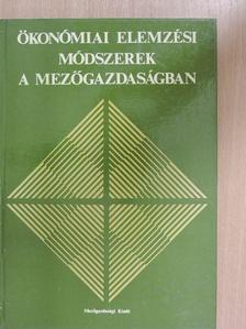 Bacskay Zoltán - Ökonómiai elemzési módszerek a mezőgazdaságban [antikvár]