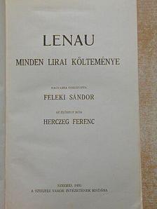 Nikolaus Lenau - Lenau minden lirai költeménye [antikvár]