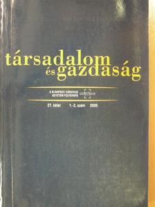 Balázs Péter - Társadalom és gazdaság 2005/1-2. [antikvár]