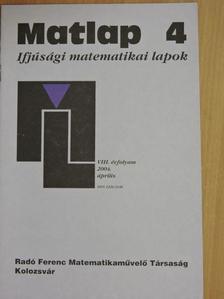 Dályai Pál Péter - Matlap 2004. április [antikvár]