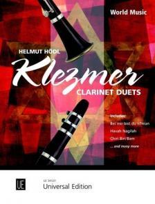 HÖDL, HELMUT - KLEZMER FOR CLARINET DUETS (HELMUT HÖDL) - WORLD MUSIC