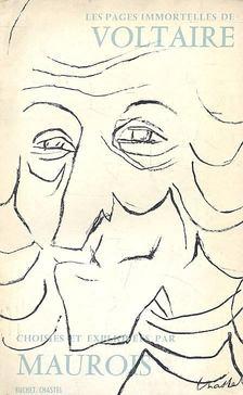 André Maurois - Les pages immortelles de Voltaire [antikvár]