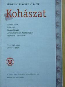 A. Togay - Kohászat 2003. (nem teljes évfolyam) [antikvár]