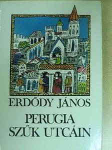 Erdődy János - Perugia szűk utcáin [antikvár]