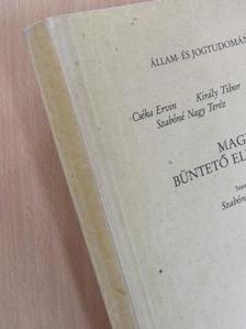 Cséka Ervin - Magyar büntető eljárási jog II. [antikvár]