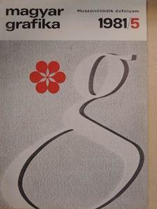 Bak János - Magyar Grafika 1981/5. [antikvár]