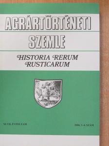Csató Tamás - Agrártörténeti Szemle 2006/1-4. [antikvár]