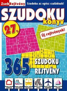 CSOSCH KIADÓ - ZsebRejtvény SZUDOKU Könyv 27.
