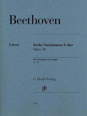 BEETHOVEN - SECHS VARIATIONEN F-DUR OP.34