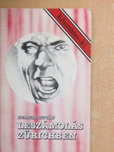 Nemere István - Leszámolás Zürichben [antikvár]