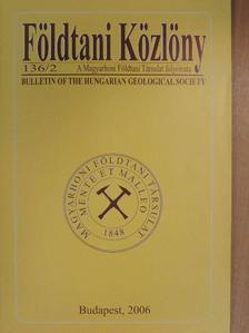 Báldi Katalin - Földtani Közlöny 2006/2. [antikvár]