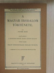 Amade László - A magyar irodalom története I. [antikvár]
