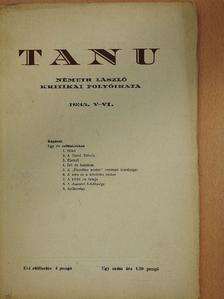 Németh László - Tanu 1935. V-VI. [antikvár]