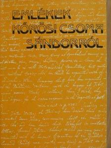 Eötvös József - Emlékek Kőrösi Csoma Sándorról [antikvár]