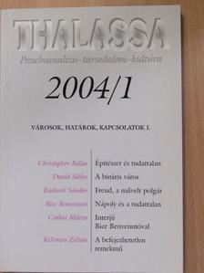 Bice Benvenuto - Thalassa 2004/1. [antikvár]