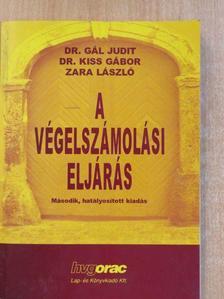 Dr. Gál Judit - A végelszámolási eljárás [antikvár]