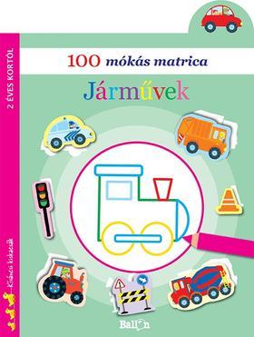 .- - 100 mókás matrica - Járművek